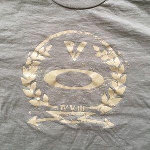 Oakley Shirts - Oakley Graphic Olive Green Short Sleeve Tee-Shirt